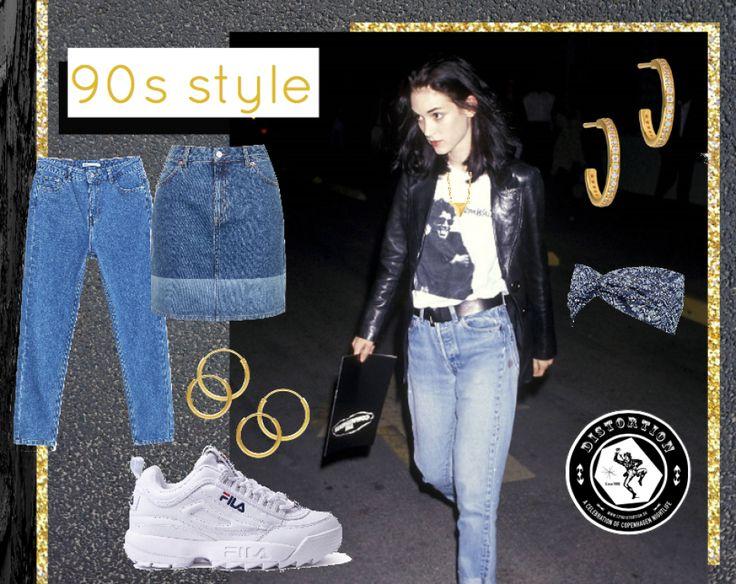 GOLD DISTORTION See more: http://hvi.sk/r/4APG  #hviskdistortion #hvisk #hoops #hoop #distortion #fashion #90s #denim #vintage #gold