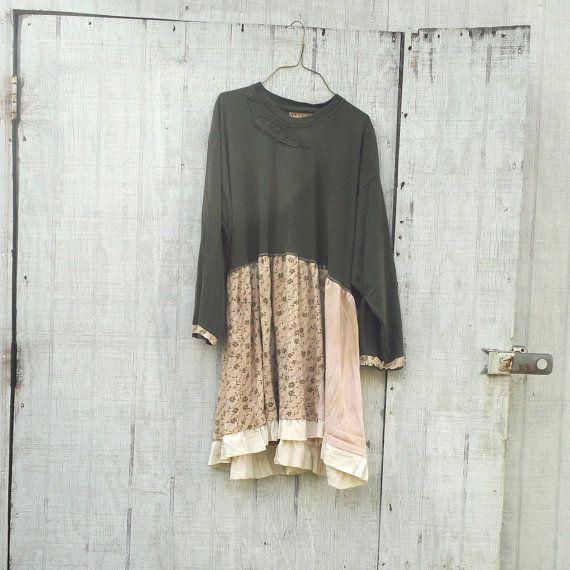medium  xlarge  Day Dress / tshirt Dress / Funky by CreoleSha, $72.99
