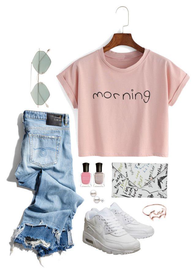 """morning pink"" by tara-subono on Polyvore"