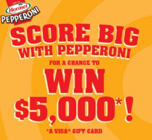Hormel Foods  Game Time Pepperoni Sweepstakes