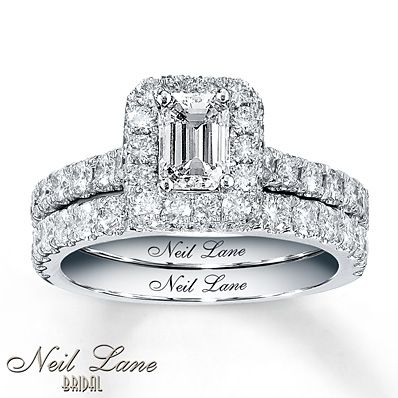 Neil Lane Bridal 1 7/8 ct tw Diamond Set 14K White Gold...LOVE LOVE LOVE!!!!