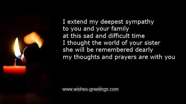 sympathy words for death of sister condolence messages funeral geisha 39 s pinterest sister