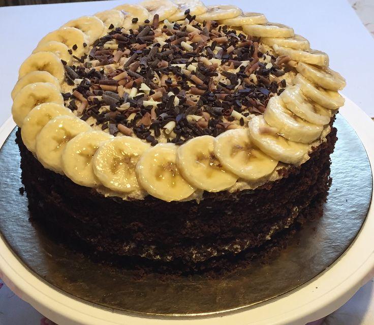 2017/09/25 banán torta