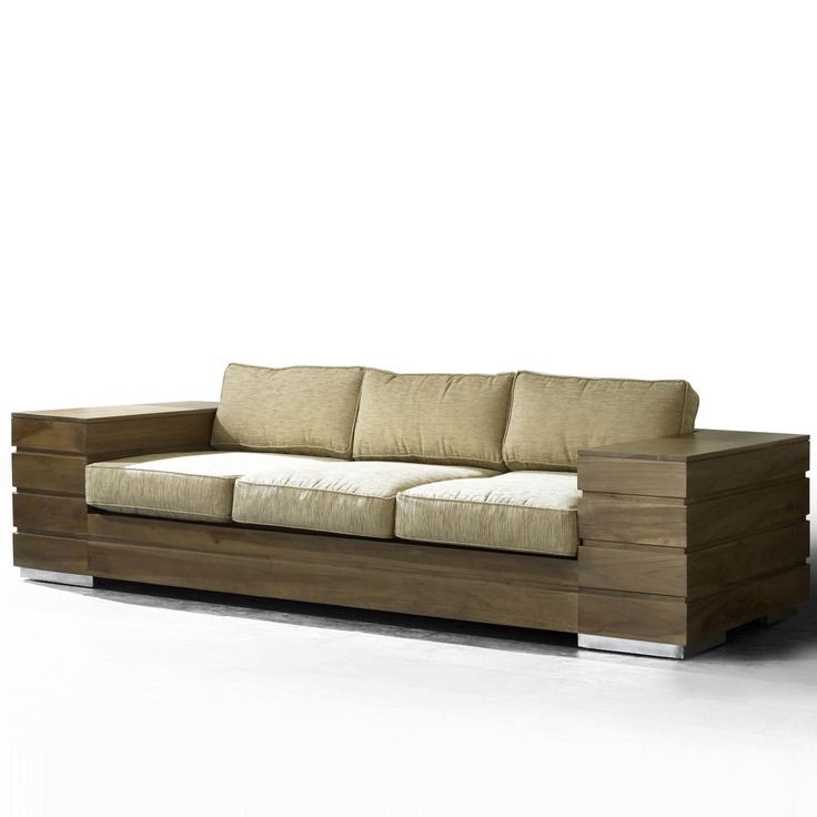 reclaimed teak sofa nature inspired couch nature inspired decor pinterest teak nature