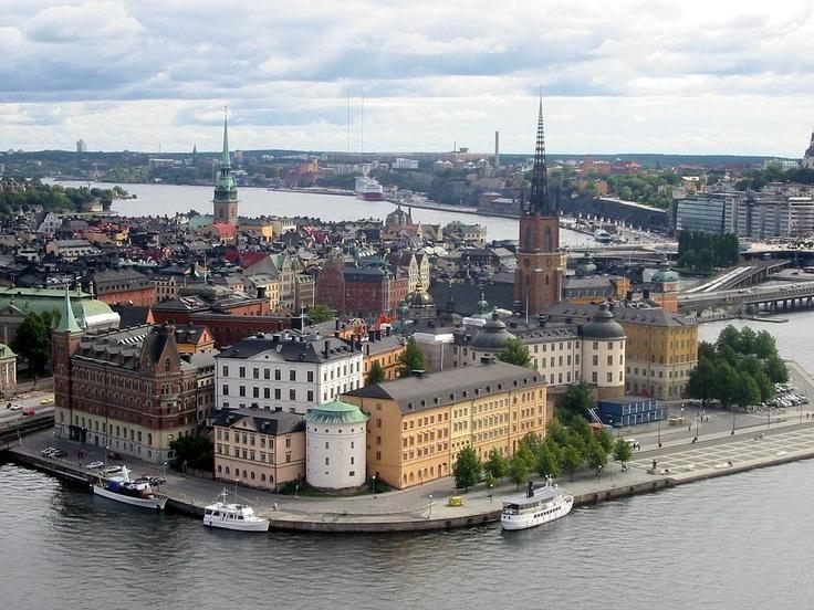 Skyline Over Old Town ~ Stockholm, Sweden