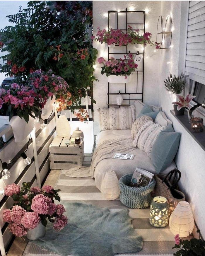 1001 Ideas De Crear Una Terraza Chill Out En Tu Casa Apartment Balcony Decorating Small Apartment Balcony Ideas Balcony Decor
