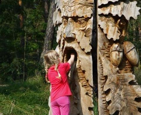 Lesopark lesních bytostí, Českolipsko
