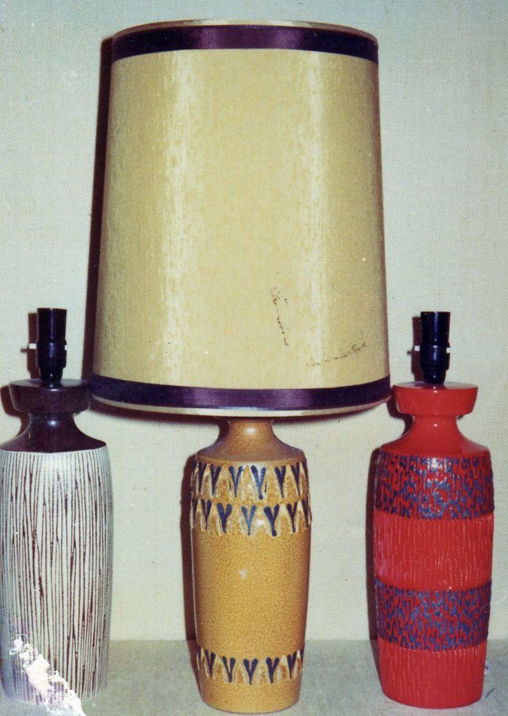 1975 || Retro Ceramic Lamps