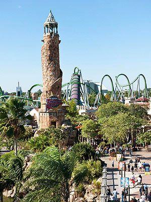 FamilyFun's Top 12 Family Vacation Destinations: #2 Universal's Islands of Adventure, Orlando, FL