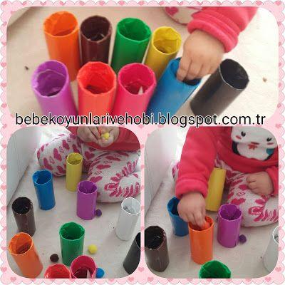 Elifce Bebek Oyunları ve Hobi: tuvalet Kağıdı ruloları ile oynanabilecek oyunlar(...