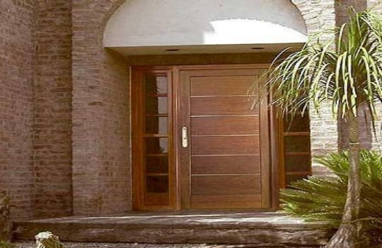 100 ideas to try about trabajos en madera wood doors for Puertas de madera y cristal exterior