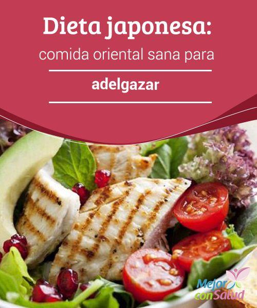 Dieta japonesa: comida oriental sana para adelgazar  ¿Te gusta la cocina japonesa? Arroz integral, té verde, soja, verduras... una nutrición saludable que según muchos estudios nos permite bajar de peso. ¿Quieres conocerla?