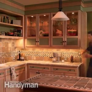 How To Install Under Cabinet Lighting In Your Kitchen - without tearing up your walls or backsplash!
