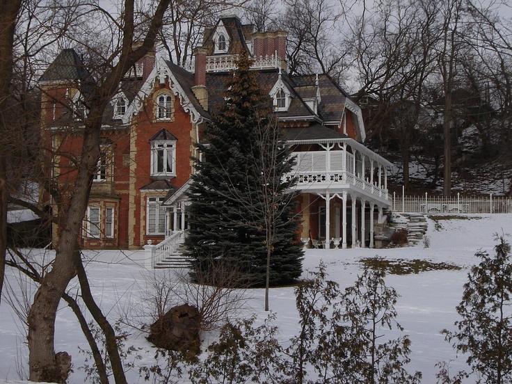 Spectacular historical home - Yates Castle located in Brantford, Ontario Canada.  (c) Jennifer Battler (JenBat)