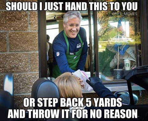 Super Bowl XLIX Memes Pete Carroll http://www.futebolamericano.eu/nfl/os-memes-do-super-bowl-xlix
