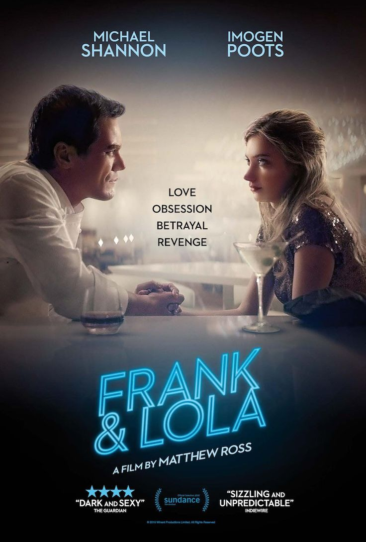 """Frank is a brooding, staunch Las Vegas chef who always focused his energy into his culinary talents—until he meets Lola, a young and beautiful enigma. Together, Frank and Lola build an intense relationship that saves each other from their mutual despair. Cracks begin to show after Lola suddenly cheats on Frank, which leads to Frank's evolving mistrust of Lola and a growing obsession with an imposing man from her past"