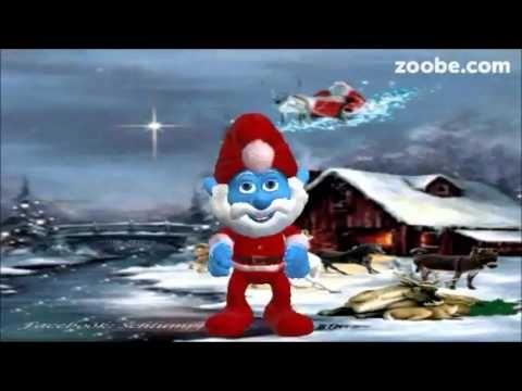 Wunderschöne Weihnachtszeit - bald ist es soweit Frohes Fest Papa Schlumpf, Animation, Zoobe - YouTube