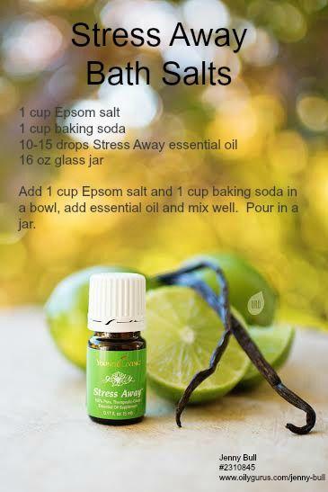 Stress Away Bath Salts - DIY Bath Salts