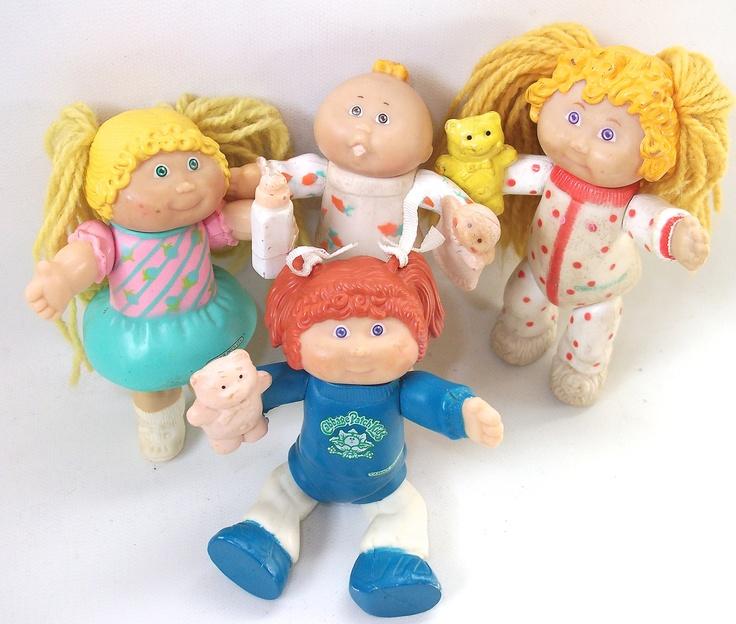 Vintage Cabbage Patch Kids Doll Figures Cabbage Patch Dolls. $24.99, via Etsy.