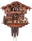 orologi a cucù - Orologio a cucù con segatori di legno, 030 cm
