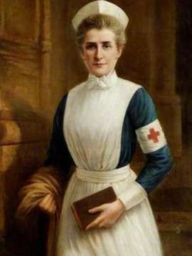 Edith Cavell painting by Raymond Lynde