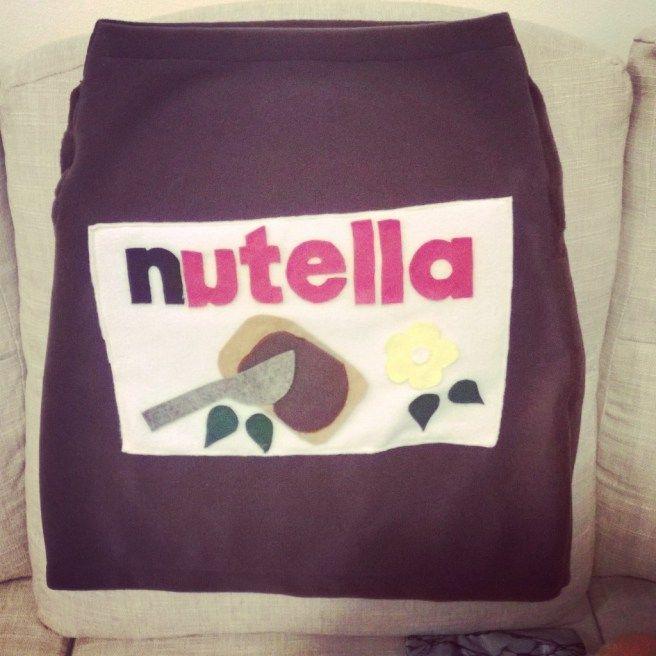 Nutella halloween costume