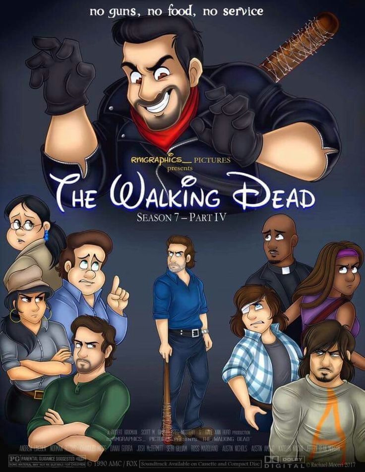 Animated Walking Dead