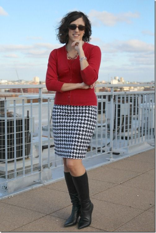 86 best how to wear houndstooth images on