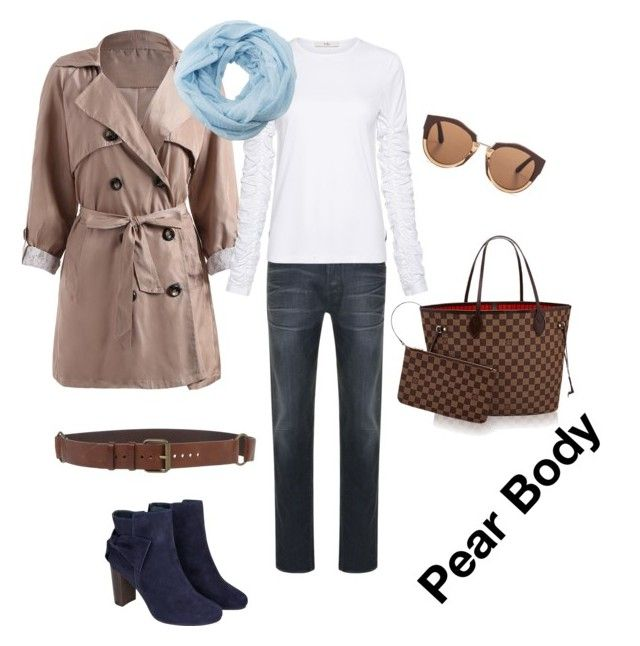 """""""Pear - example - trench+jeans"""" by ella-ananieva on Polyvore featuring STONE ISLAND, Monsoon, Ann Demeulemeester, Marni, TIBI and Charlotte Russe"""