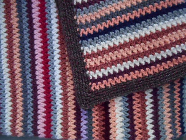 174 besten plaid crochet Bilder auf Pinterest | Stricken, Häkeln und ...