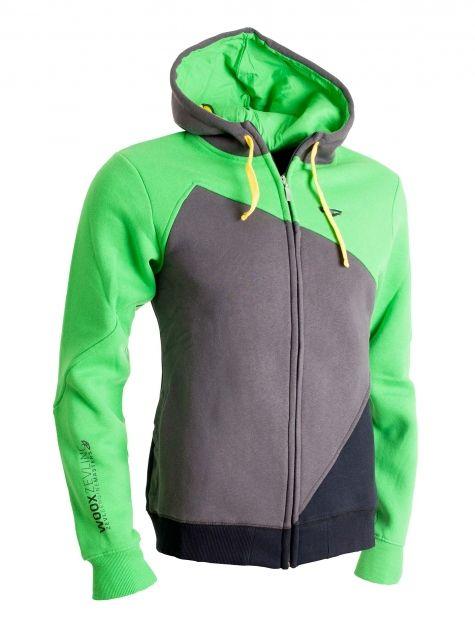 Scarf Sweatshirt Green