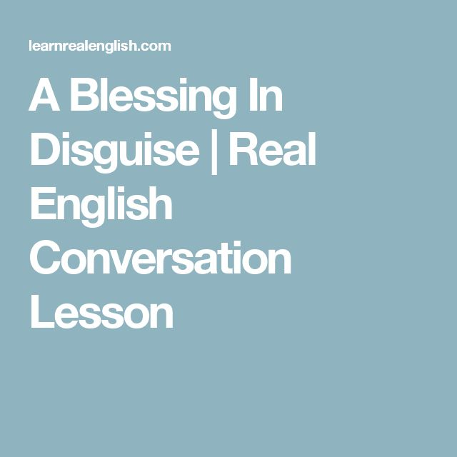 a blessing in disguise essay Essays and criticism on alec guinness' blessings in disguise - critical essays.