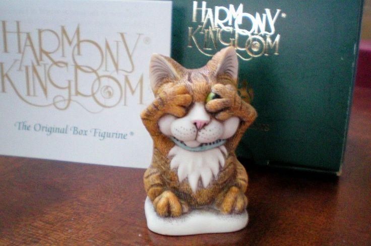 Harmony Kingdom Peeping Tom Cat UK Made Artist Signed NEW   eBay