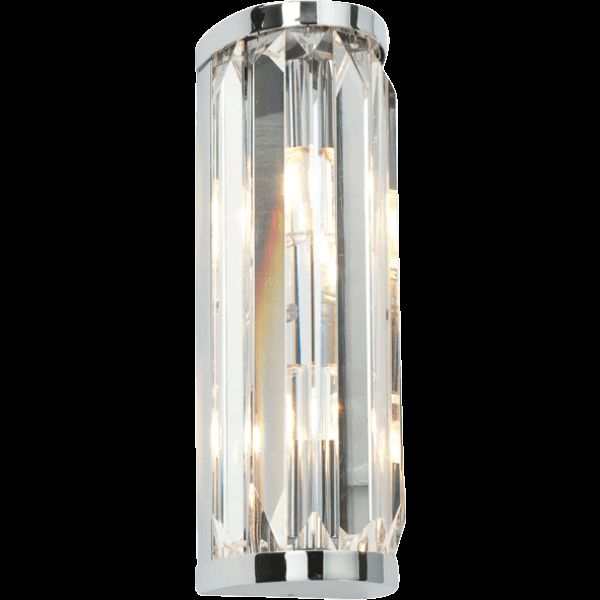 Saxby Crystal Double Wall Light 28W