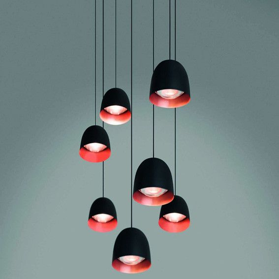 A selection of Indoor pendant luminaires