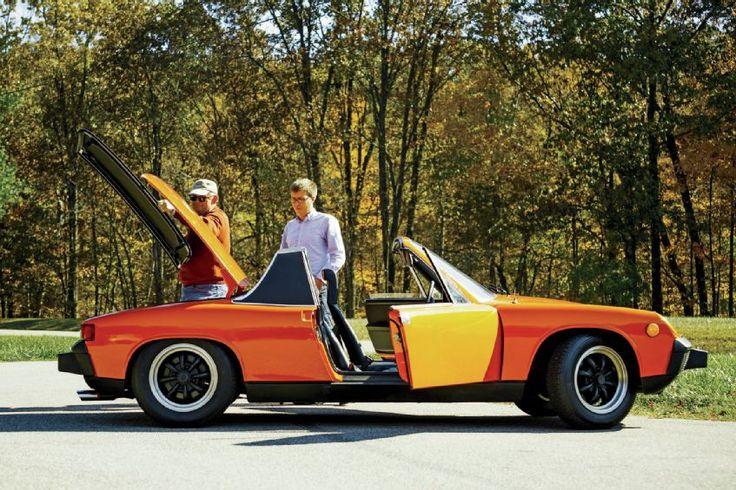 1970 1976 Porsche 914 side profile