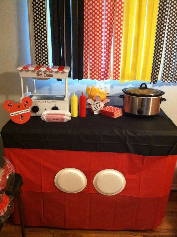 Table Cloth | Events: Mickey Mouse Clubhouse Party ...