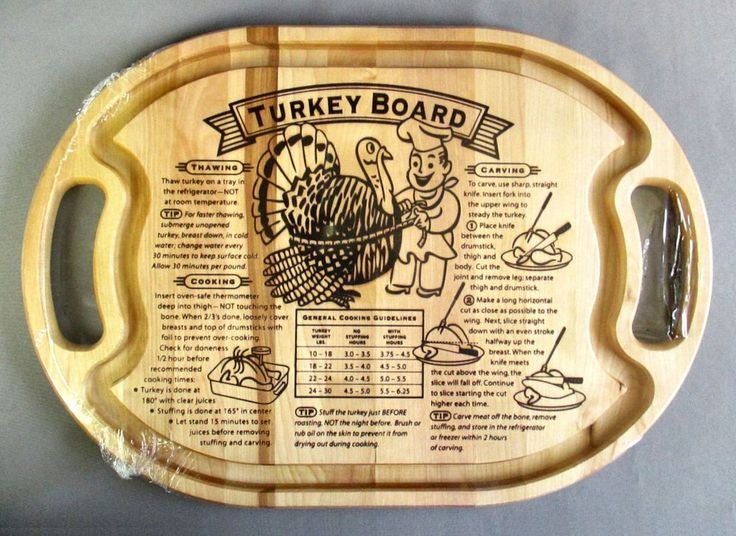 Grande epicure turkey carving board maple wood new sealed