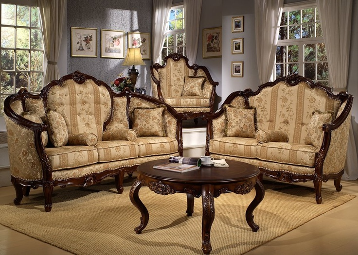 Bellflower Victorian Living Room Set | My French rustic ...