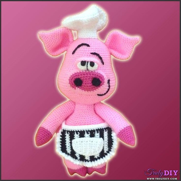 60 best pigs(crochet) images on Pinterest | Schweine, Häkelpuppen ...