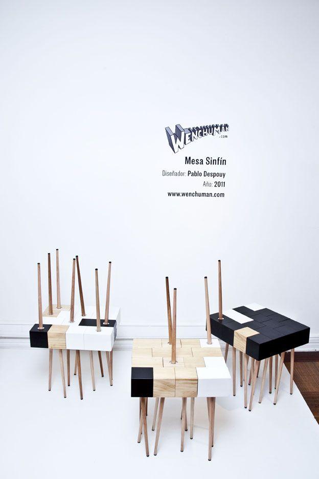 Mesa Sinfin Diseñador: Pablo Despouy Año: 2011 — en Casa Mia .