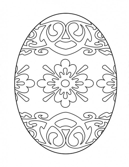 Free Printable Easter Coloring Pages Eggs - Easter Coloring pages ...