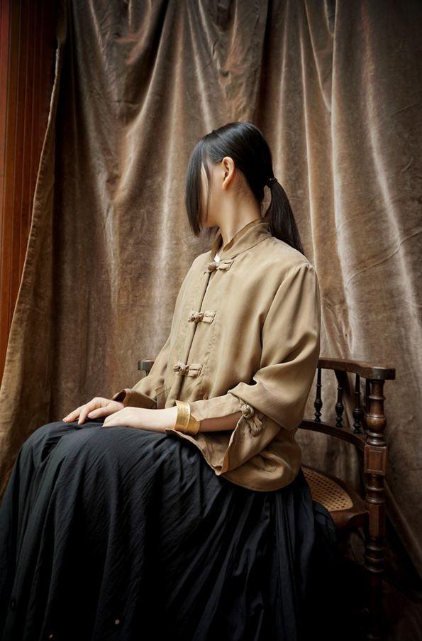 [ HOUSE OF LOTUS ] CHINA BLOUSE www.lancah.com