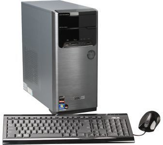 ASUS M32BF-US008O Desktop PC - AMD Quad-Core Processor, 4GB DDR3, 1TB HDD, Windows 7
