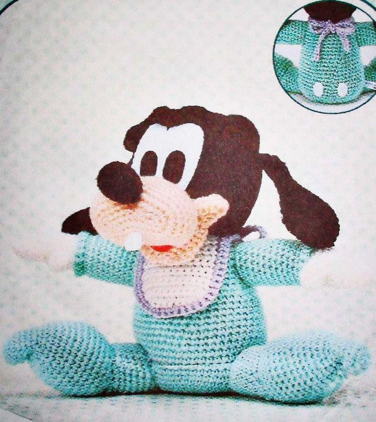 Ebook crochet amigurumi Disney dog PDF Pattern