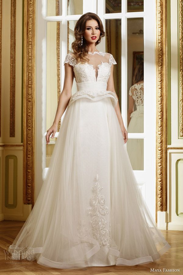 Maya Fashion 2015 Wedding Dresses — Limited Bridal Collection   Wedding Inspirasi