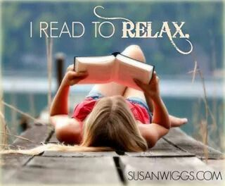 I read to relax