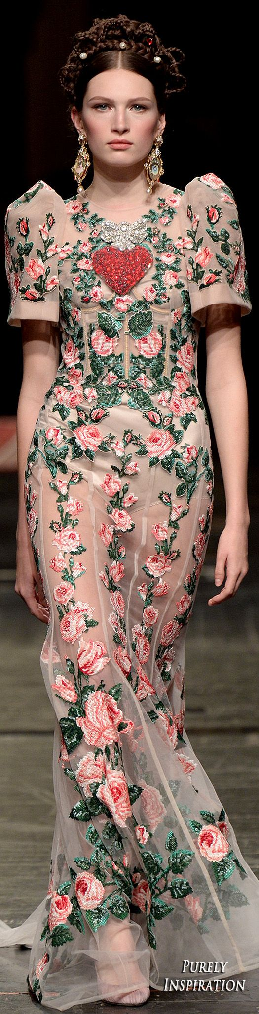 Dolce & Gabbana 2016 Alta Moda Collection   Purely Inspiration