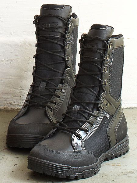 5.11 Recon Urban Boots ($150) A favorite of soldiers and search-and-rescue experts, 5.11 boots are light and require no break-in period. Which means they'll be good to go come judgment day.