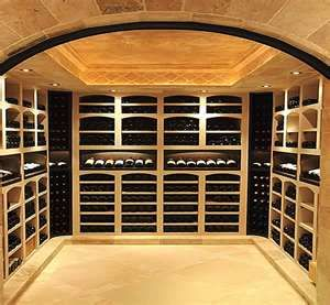 A more contemporary wine cellar...can a wine cellar really be wrong?
